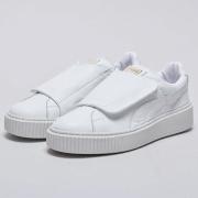 PUMA Basket Platform Strap Shoes