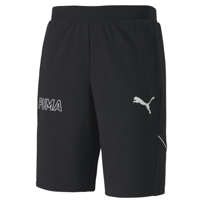 PUMA MODERN SPORTS shorts, Color: black, Material: cotton, polyester