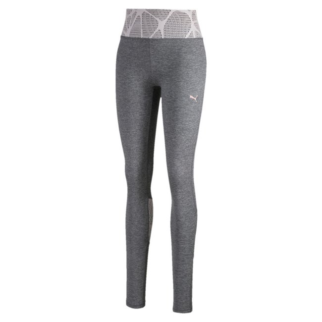 PUMA Lace Eclipse Full leggings, Color: gray, Material: polyester, elastane