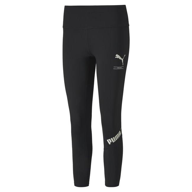 PUMA Nu-tility 7 8 leggings, Color: black, Material: polyester, elastane