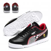 Ferrari SF Roma JR shoes, Color: Black, Material: Upper: Synthetic fibers, Midsole: EVA, Sole: rubber