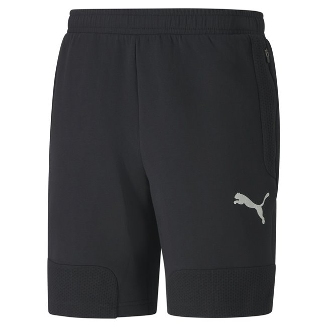 PUMA EVOSTRIPE shorts, Color: black, Material: cotton, polyester