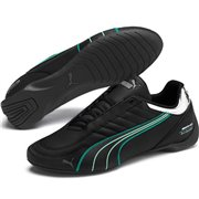Mercedes Future Kart Cat shoes, Color: black, Material: Upper: synthetic fibers, Sole: rubber