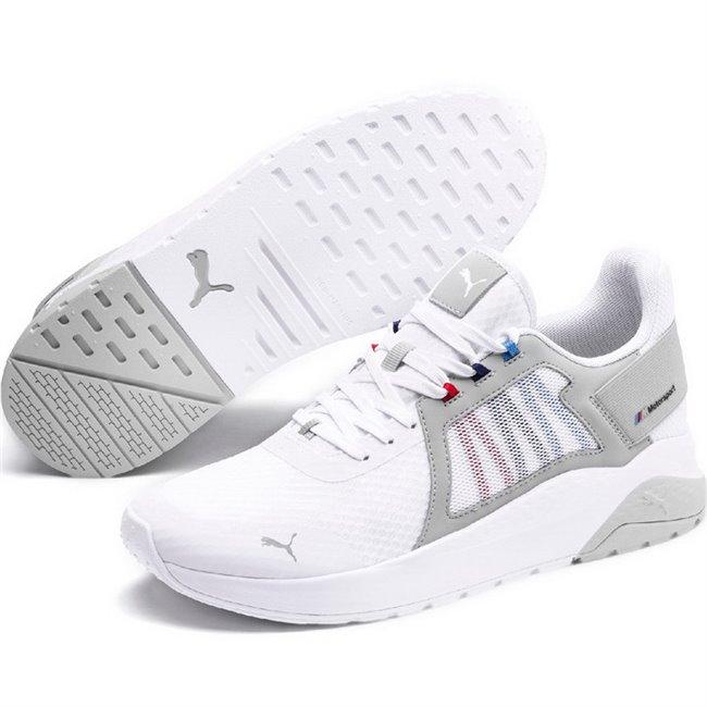 BMW MMS Anzarun shoes, Color: white, Material: Upper: fabric, Midsole: EVA, Sole: rubber