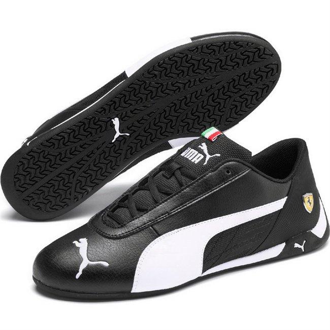 Ferrari SF R-cat shoes, Color: black, Material: Upper: synthetic fibers, Sole: rubber
