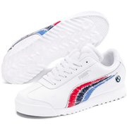 BMW MMS Roma JR shoes, Color: White, Material: Upper: Synthetic fibers, Midsole: EVA, Sole: rubber