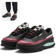 PUMA Deva Chic Wns shoes, Color: Black, Material: Upper: leather, Midsole: rubber, Sole: rubber