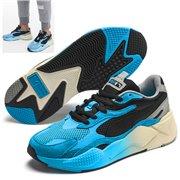 PUMA RS-X MOVE shoes, Color: Black, Material: Upper: mesh, Midsole: PU, Sole: rubber