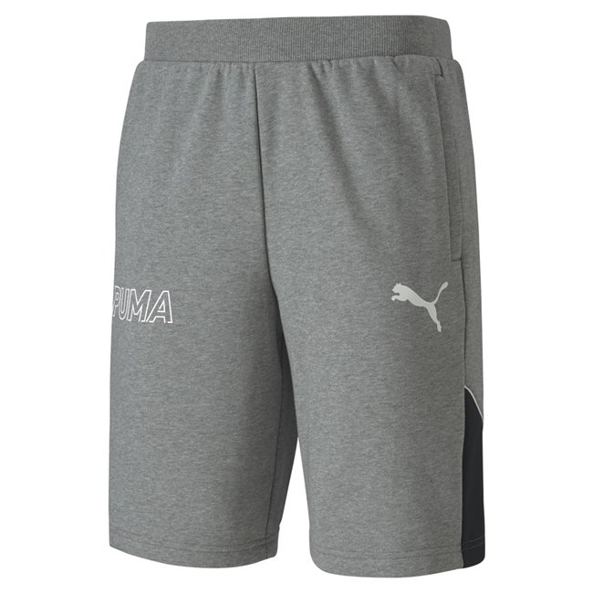 PUMA MODERN SPORTS shorts, Color: gray, Material: cotton, polyester