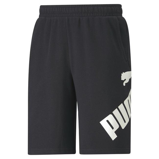 PUMA BIG LOGO shorts, Color: black, Material: cotton, polyester