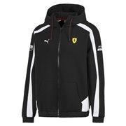 Ferrari SF hoodie, Color: black, Material: cotton, polyester