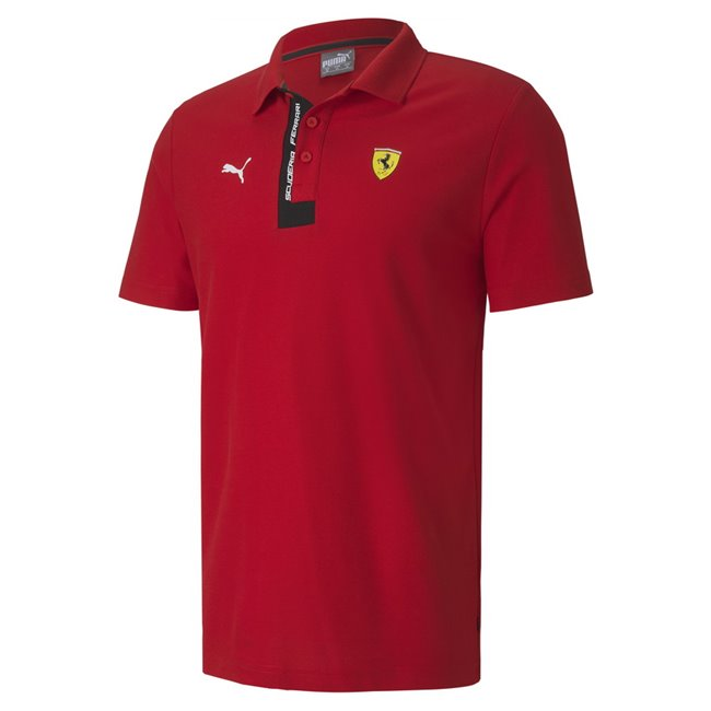 Ferrari SF T-shirt, Color: red, Material: cotton, polyester