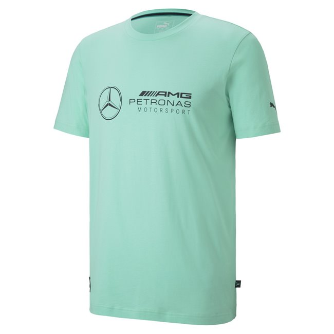 Mercedes LOGO T-shirt, Color: green, Material: Cotton