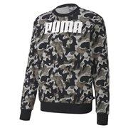 PUMA Rebel Camo Crew Tr Sweatshirt
