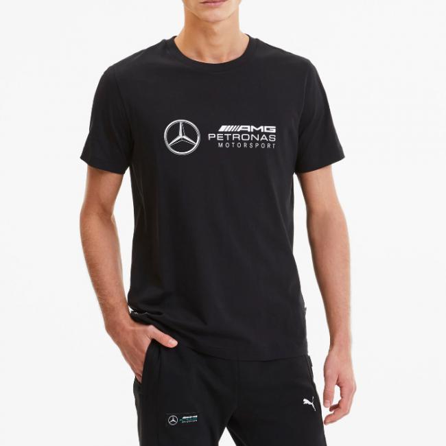 Mercedes LOGO T-shirt, Color: black, Material: Cotton