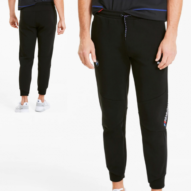BMW MMS Sweat CC trousers, Color: black, Material: cotton, polyester