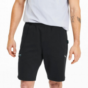 Mercedes SWEAT shorts, Color: black, Material: cotton, polyester