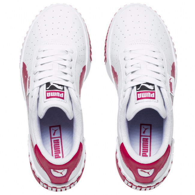 PUMA Cali Brushed Wns shoes, Color: White