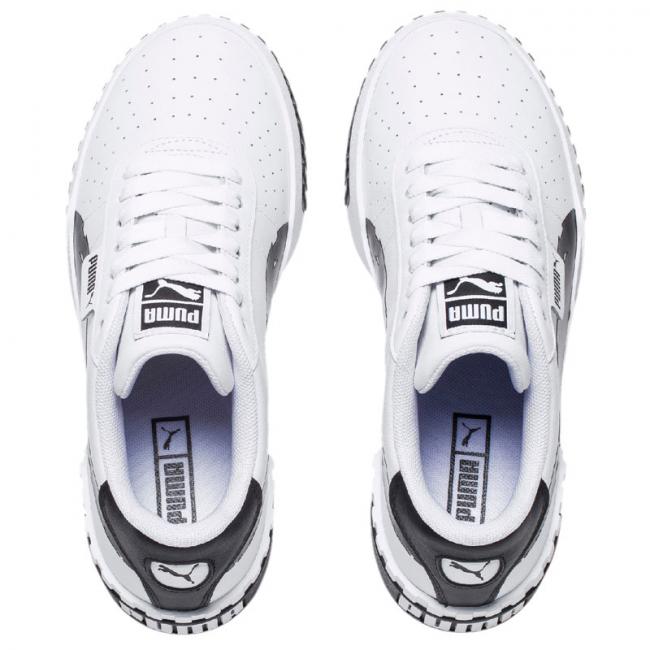 PUMA Cali Brushed Wns shoes, Color: Black