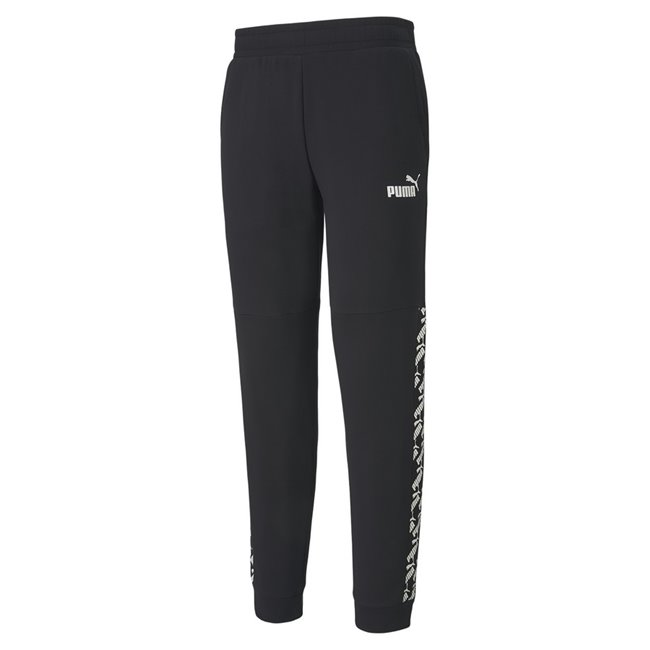 PUMA AMPLIFIED TR trousers, Color: black Material: 68% cotton 32% polyester