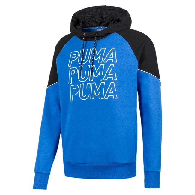 PUMA MODERN SPORTS TR hoodie, Color: blue Material: 68% cotton 32% polyester