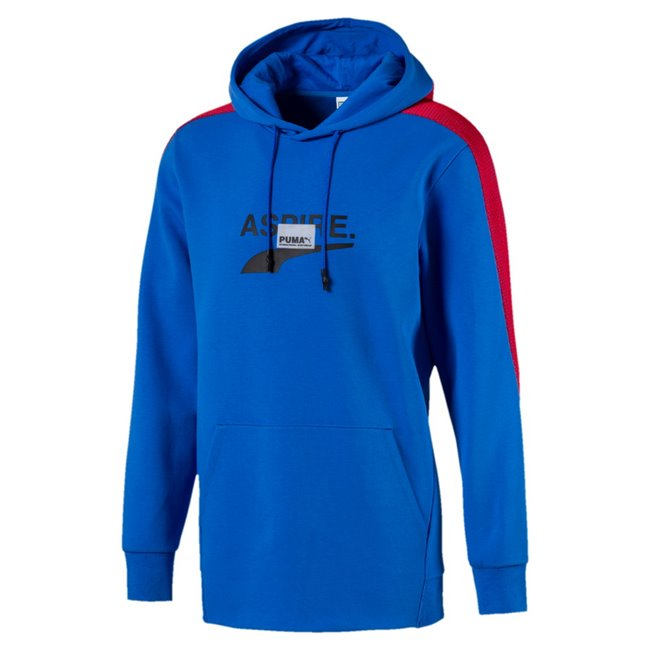 PUMA Avenir sweatshirt, Color: blue, Material: cotton, polyester