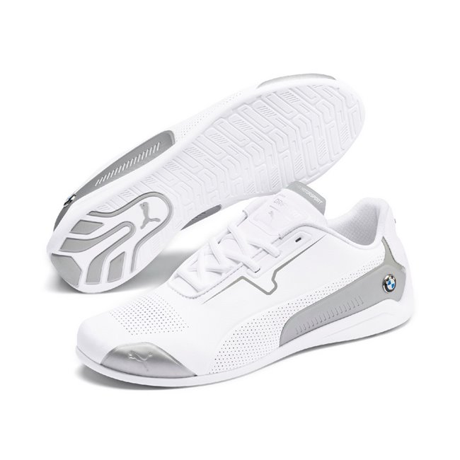 BMW MMS Drift Cat 8 shoes, Color: white, Material: Upper: synthetic fibers, Sole: rubber