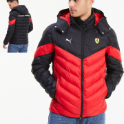 Ferrari Race MCS EcoLite Jkt, Color: red, Material: nylon,