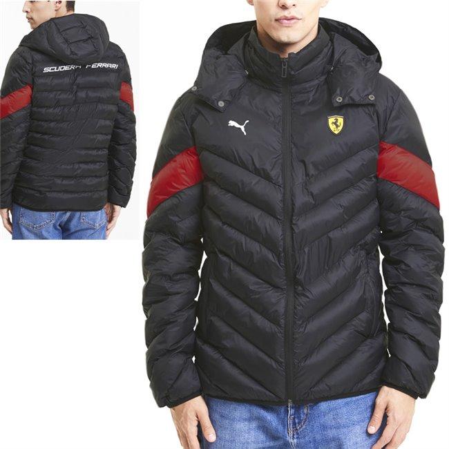 Ferrari Race MCS EcoLite Jkt, Color: black, Material: nylon,