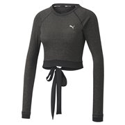 PUMA Studio Metallic LS Top