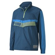 PUMA Train Woven 1 2 Zip Jacket