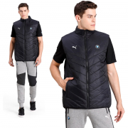 BMW MMS MCS Padded Vest, Color: black, Material: nylon, polyester,