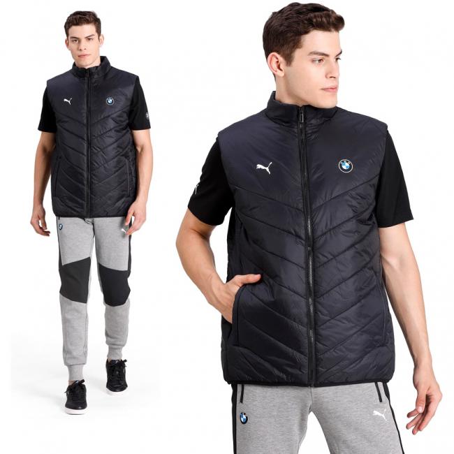 BMW MMS MCS Padded Vest, Color: black, Material: nylon, polyester,