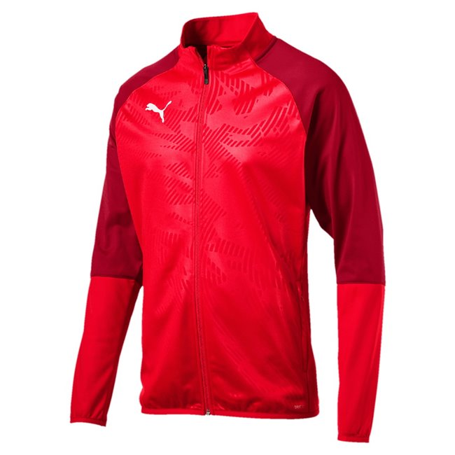 PUMA CUP Training Poly Core jacket, Color: red, Material: N / A