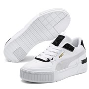 PUMA Cali Sport Mix Wns women shoes, Colour: white, black, Material: Upper: synthetic leather, Midsole: rubber, Sole: rubber