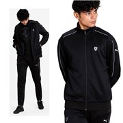 Ferrari Style T7 Track Jkt, Color: black, Material: polyester, cotton,