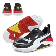 Ferrari Race X-Ray 2 shoes, Colour: black, white, Material: Upper: mesh, leather, synthetic leather, Midsole: EVA, Sole: rubber