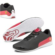 Ferrari Drift Cat 8 shoes, Colour: black, red, Material: Upper: synthetic leather, Sole: rubber
