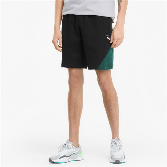 Mercedes MAPF1 Sweat Shorts men shorts, Colour: black, Material: cotton, polyester