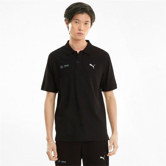 Mercedes MAPF1 Polo men T-Shirt, Colour: black, Material: cotton, polyester
