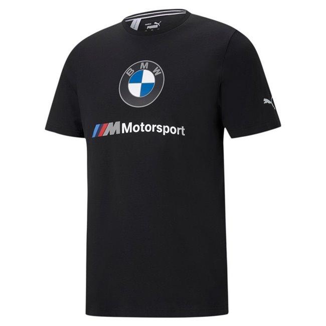 BMW MMS ESS Logo Tee men T-Shirt, Colour: black, Material: cotton