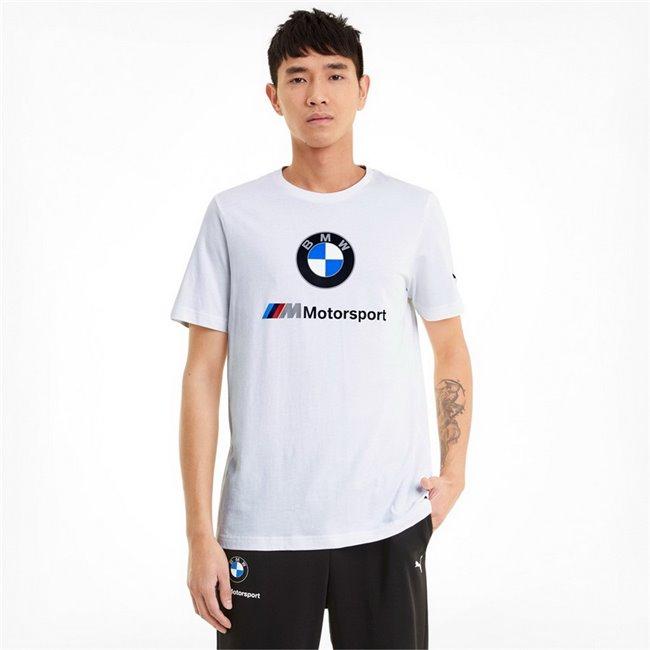 BMW MMS ESS Logo Tee men T-Shirt, Colour: white, Material: cotton