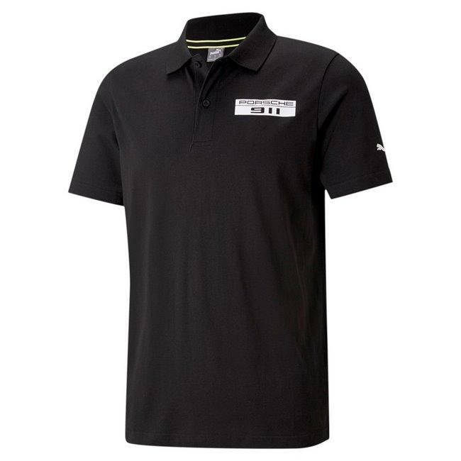 Porsche PL Base Polo men T-Shirt, Colour: black, Material: cotton