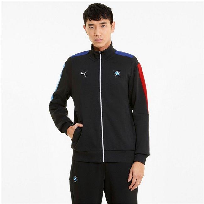 BMW MMS T7 Sweat Jacket men sweatshirt, Colour: black, Material: cotton, polyester