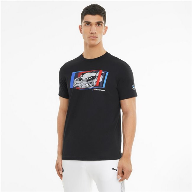 BMW MMS Car Graphic Tee men T-Shirt, Colour: black, Material: cotton