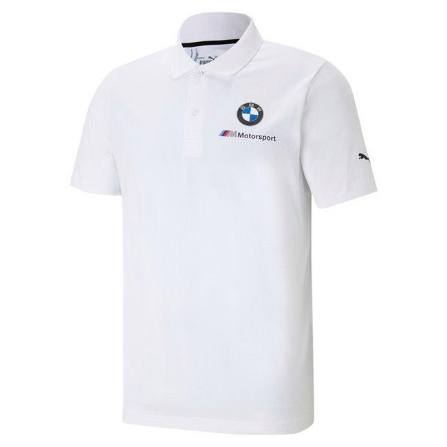 BMW MMS ESS Polo men T-Shirt, Colour: white, Material: cotton