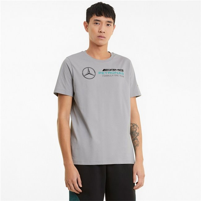 Mercedes MAPF1 Logo Tee men T-Shirt, Colour: silver, Material: cotton