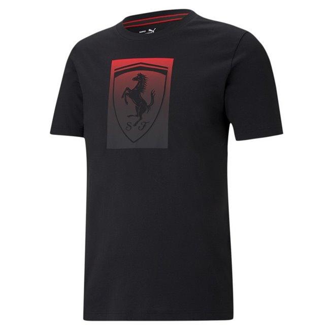 Ferrari Race Bg Shield color men T-Shirt, Colour: black, Material: cotton