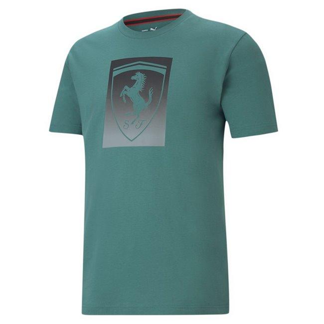 Ferrari Race Bg Shield color men T-Shirt, Colour: blue, Material: cotton
