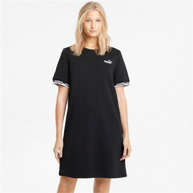 PUMA Amplified Dress gown, Colour: black, Material: cotton, polyester